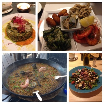 A collection of Barcelonian noms
